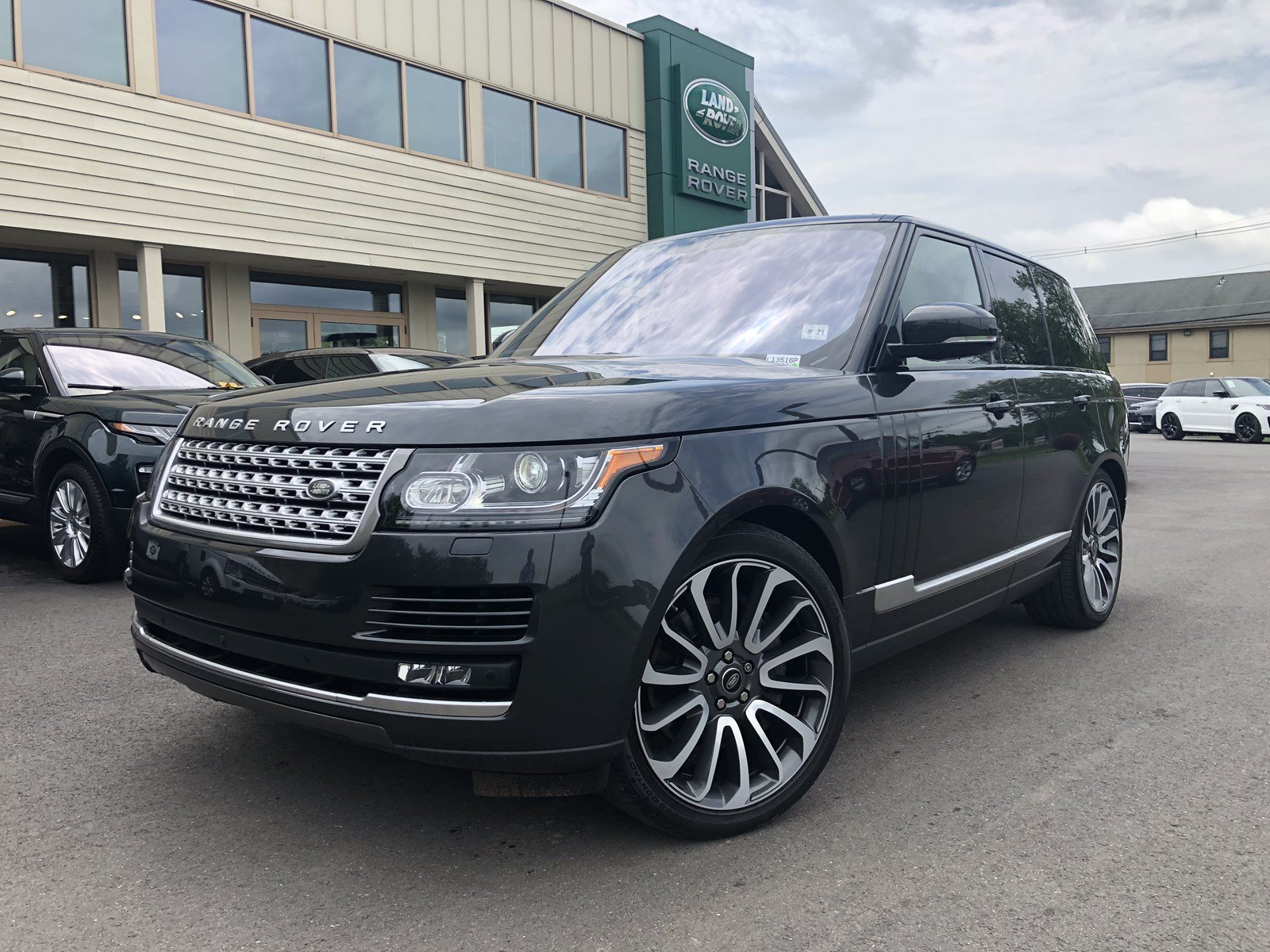 Certified Pre Owned 2016 Land Rover Range Rover Supercharged
