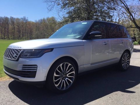 New 2020 Land Rover Range Rover HSE