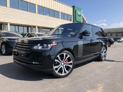 Certified Pre-Owned 2017 Land Rover Range Rover SV Autobiography Dynamic