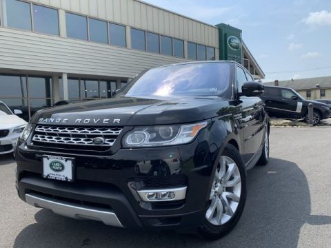 Certified Pre-Owned 2016 Land Rover Range Rover Sport V6 HSE